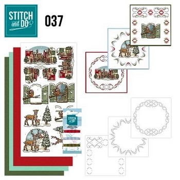 Stitch and Do nr. 37  Kerstmix