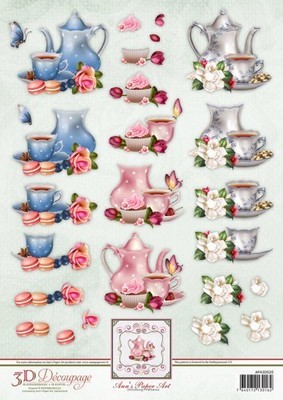 3D Decoupage Ann`s Paper Art - Tea Time