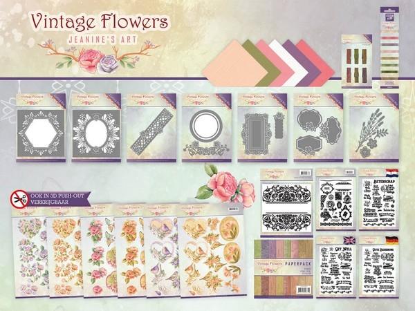Vintage-Flowers - Groot